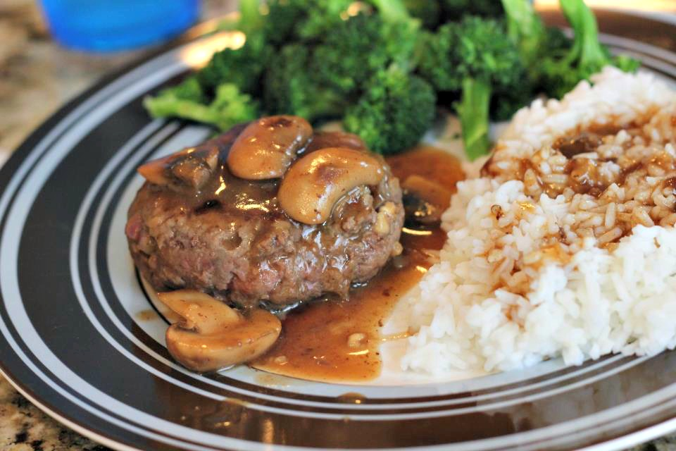 Beef Steaks with Mushroom Gravy