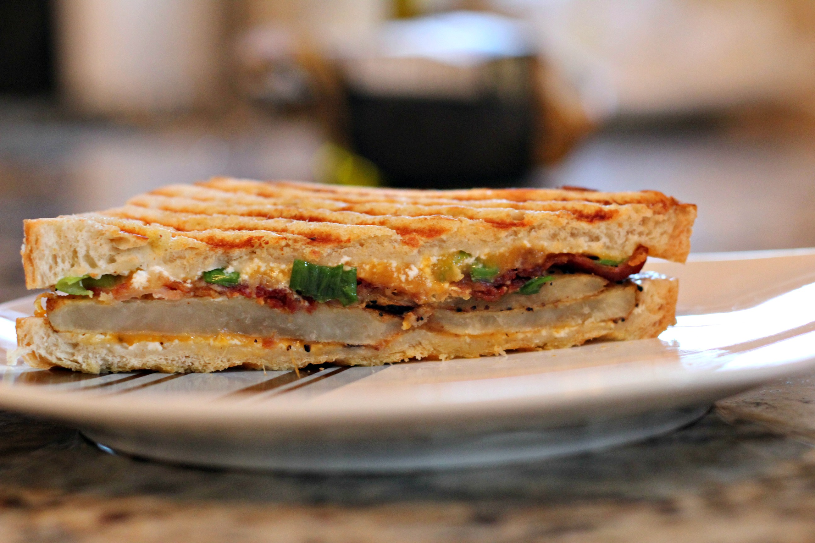 Loaded Baked Potato Panini