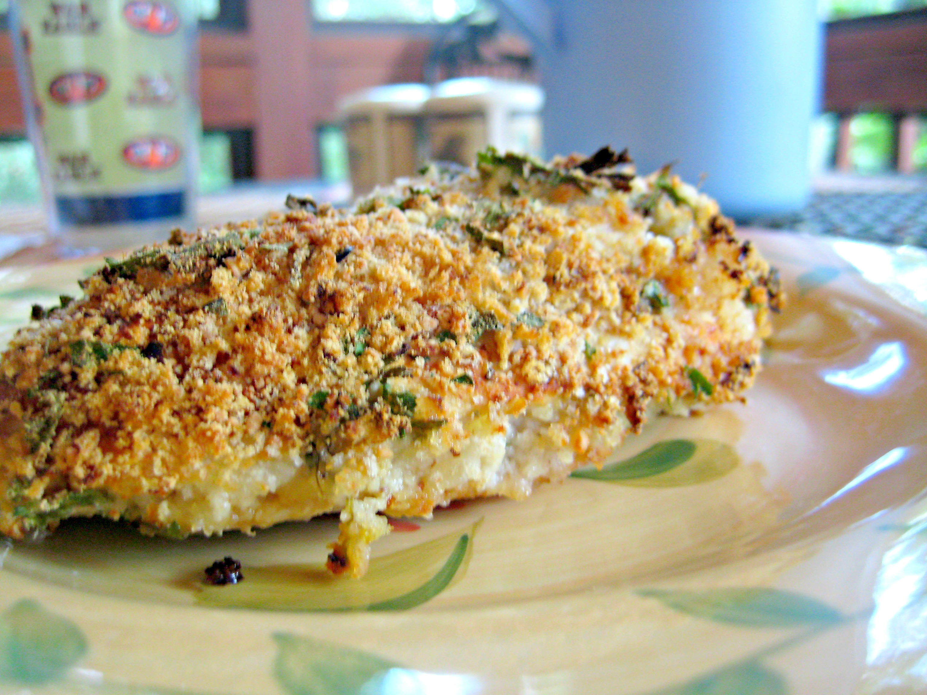 Mustard & Herb Crusted Chicken