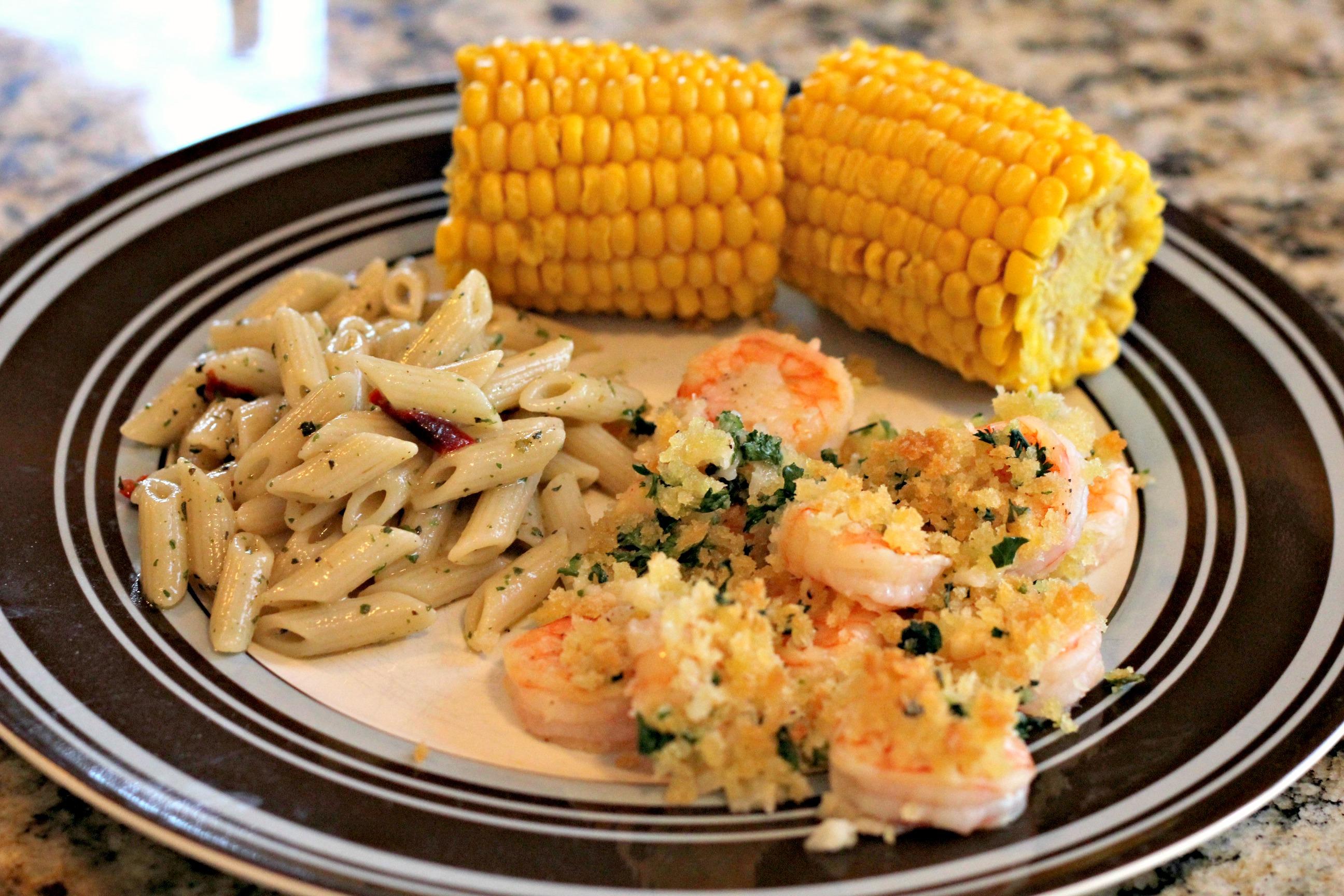 Garlicky Baked Shrimp Normal Cooking