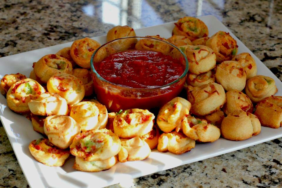 Pizza Pinwheels | Normal Cooking