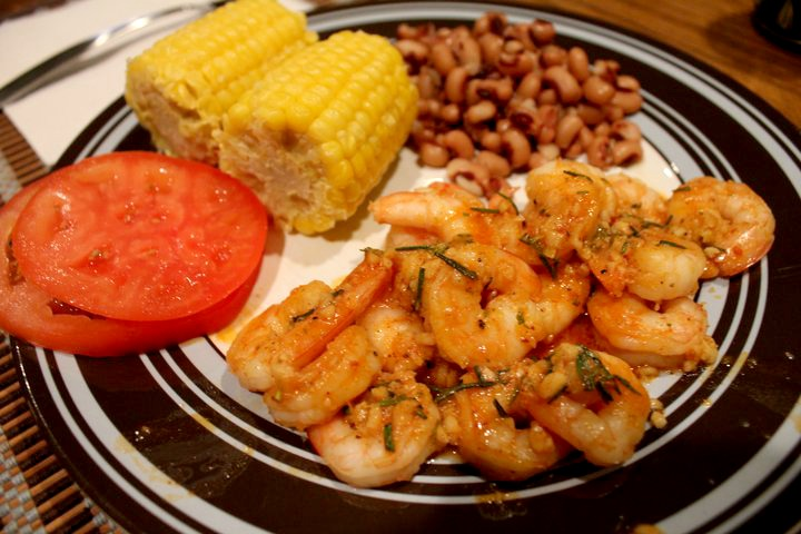 Easy BBQ Shrimp