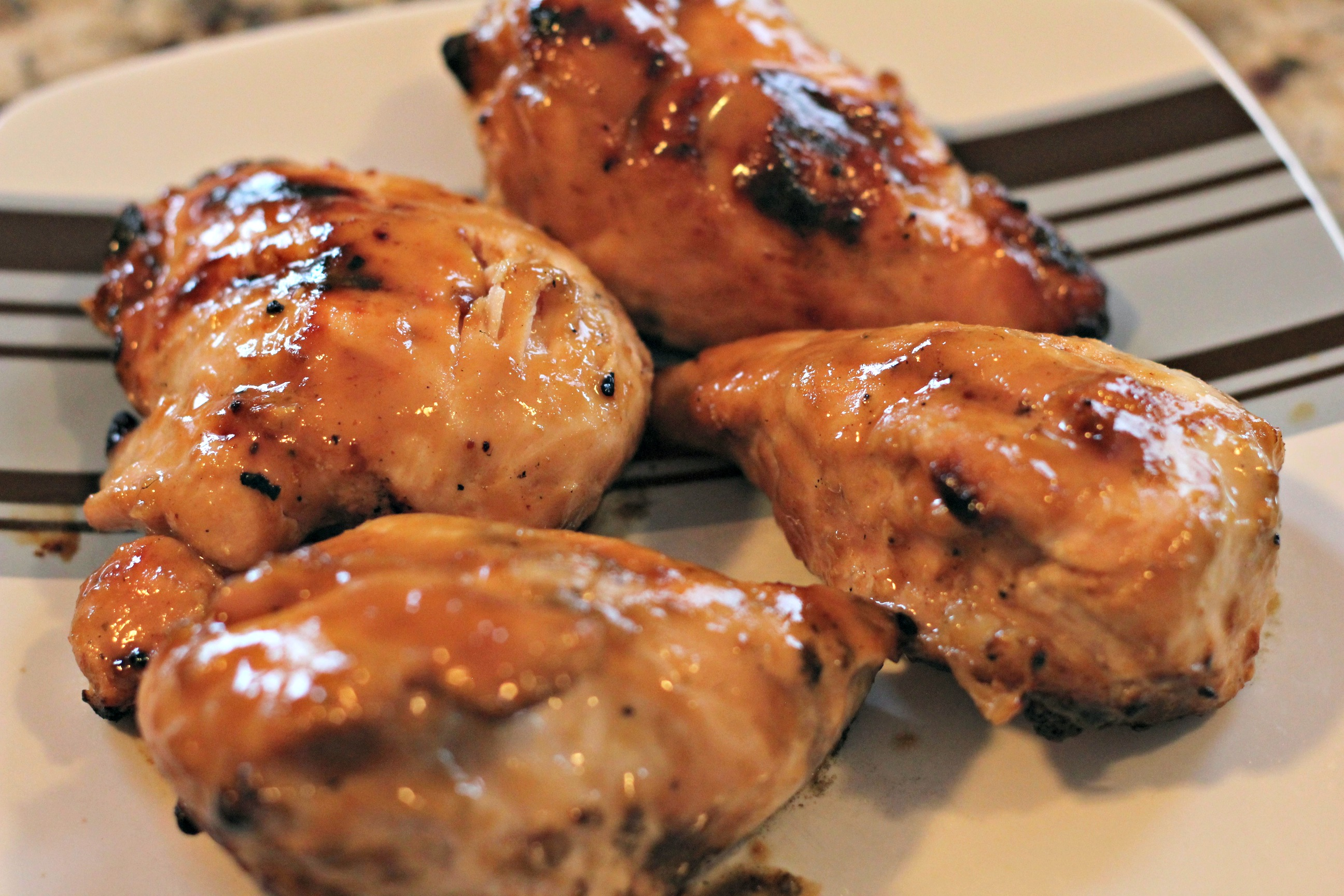 Grilled Honey Dijon Chicken | Normal Cooking