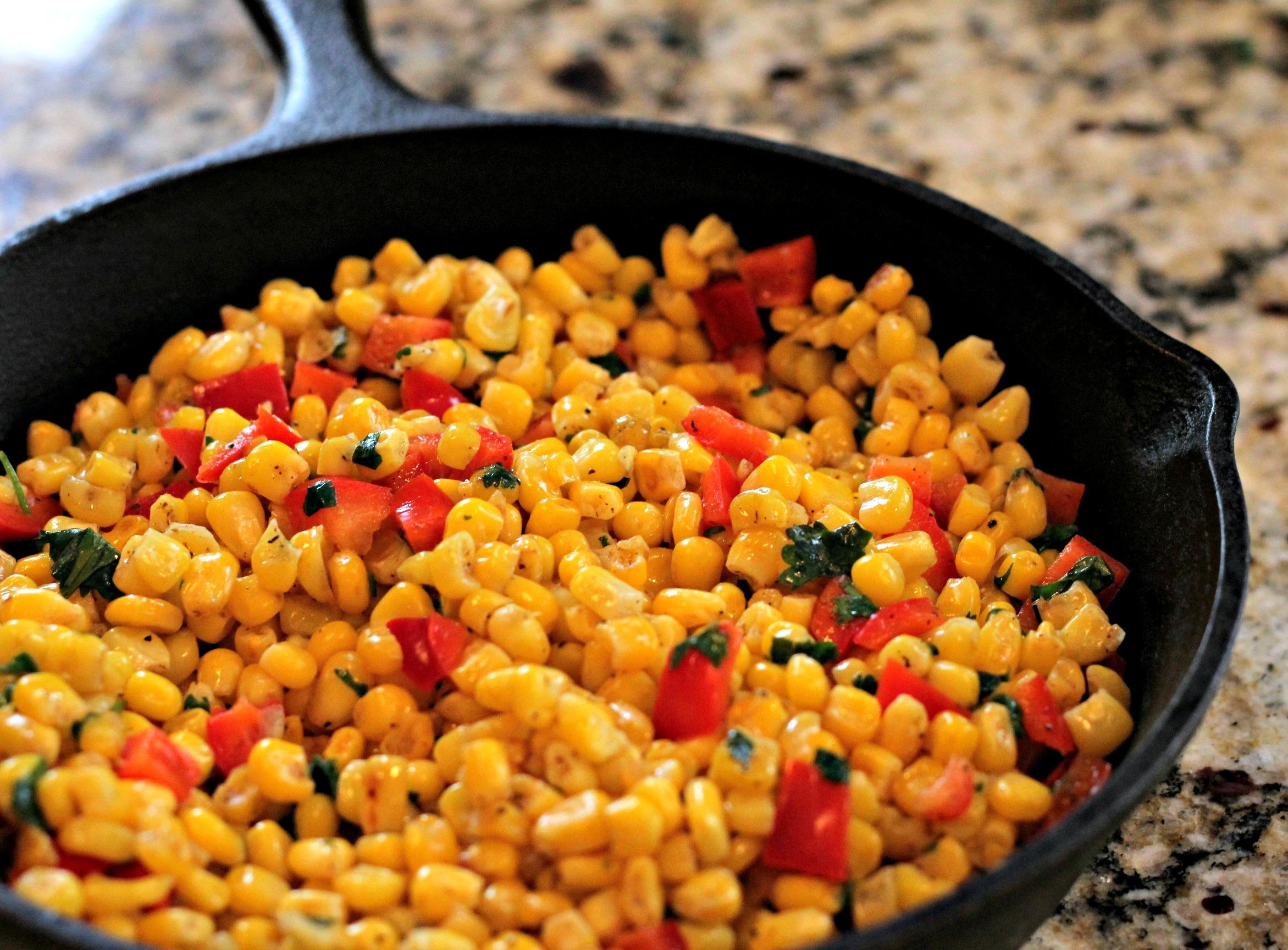 Skillet Corn Salad