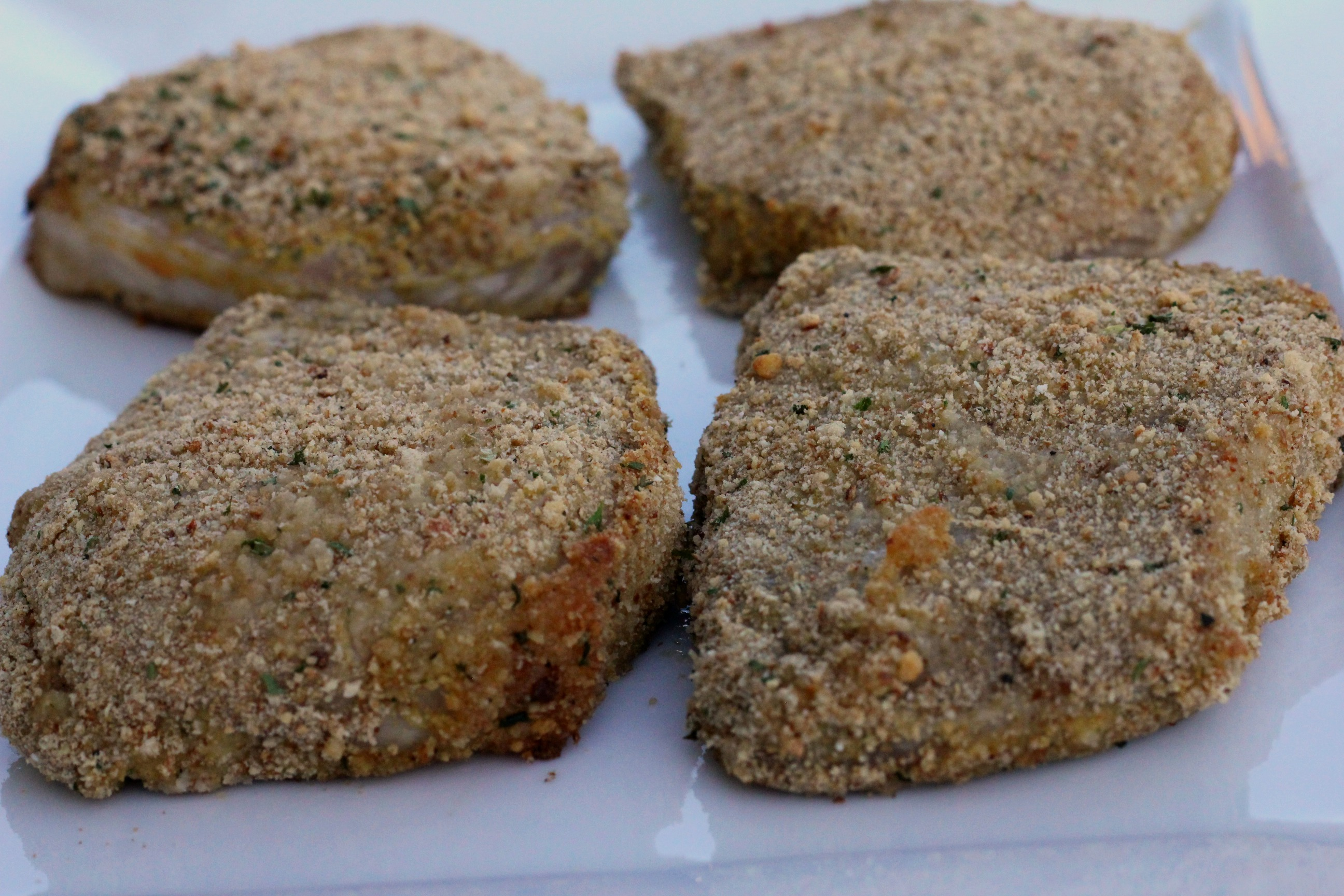 Dijon Breaded Pork Chops