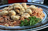 Parmesan Baked Shrimp