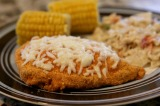 Crispy Mozzarella Chicken