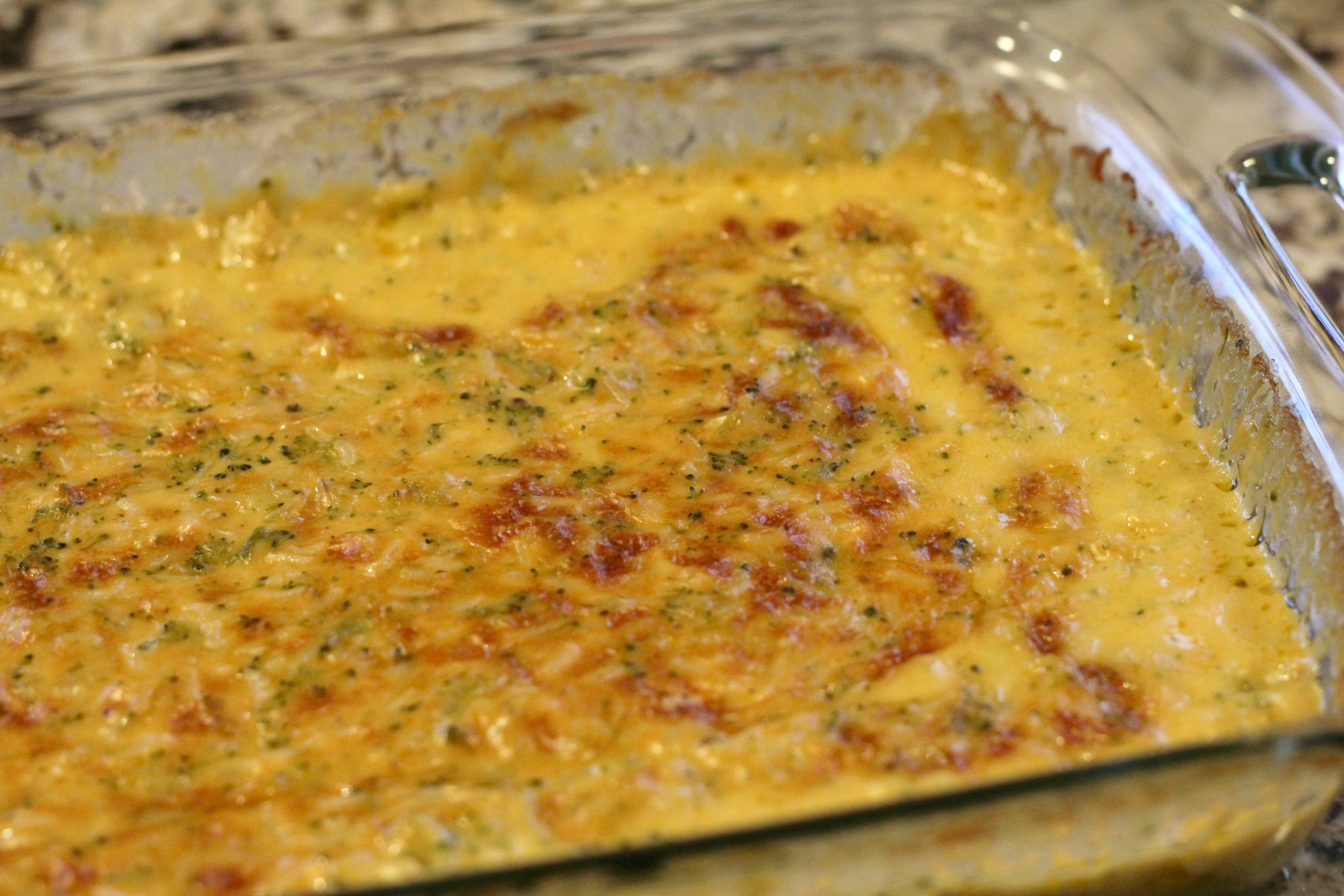 Broccoli Rice Casserole 1