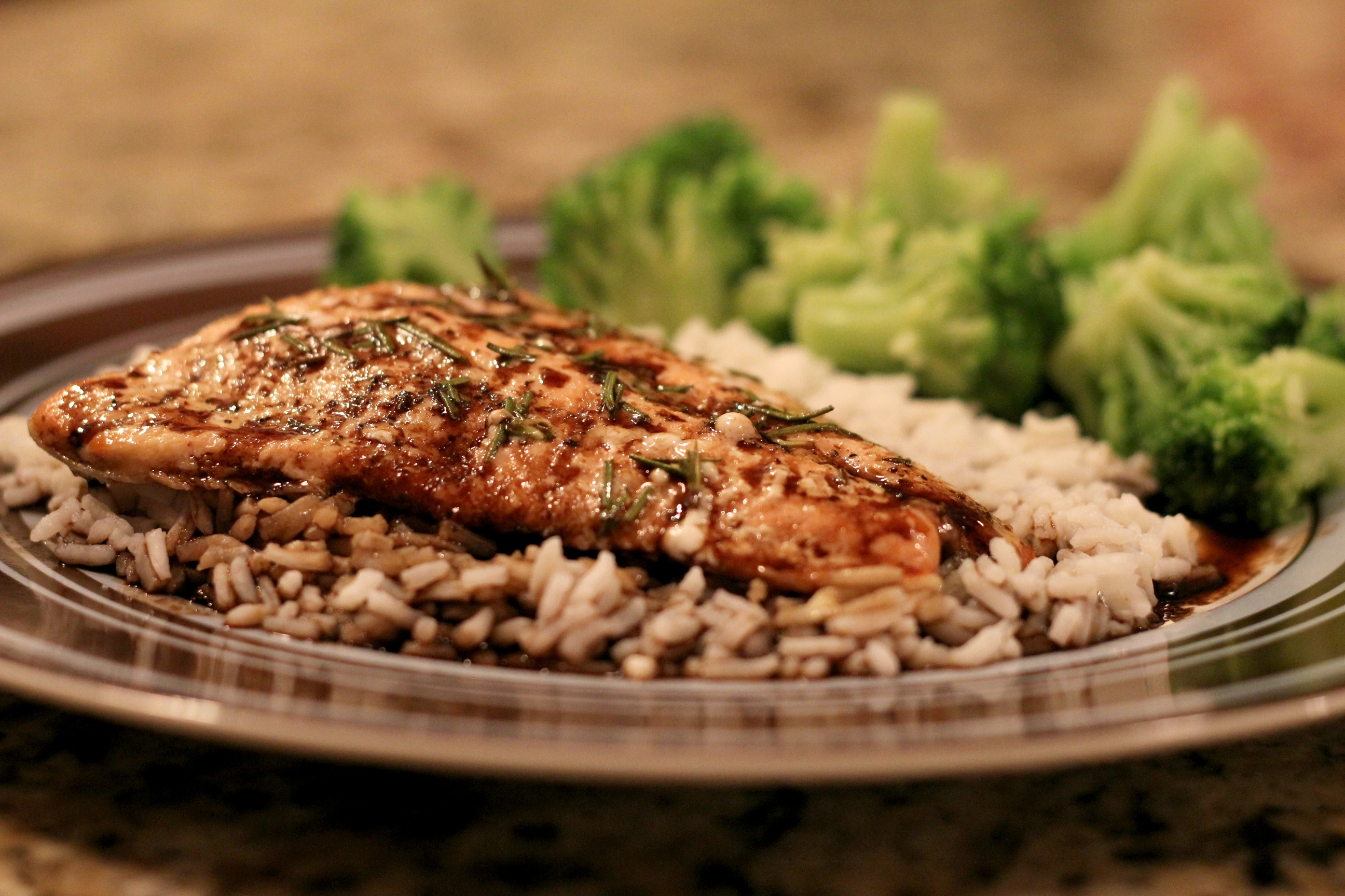 Balsamic Glazed Salmon | Normal Cooking