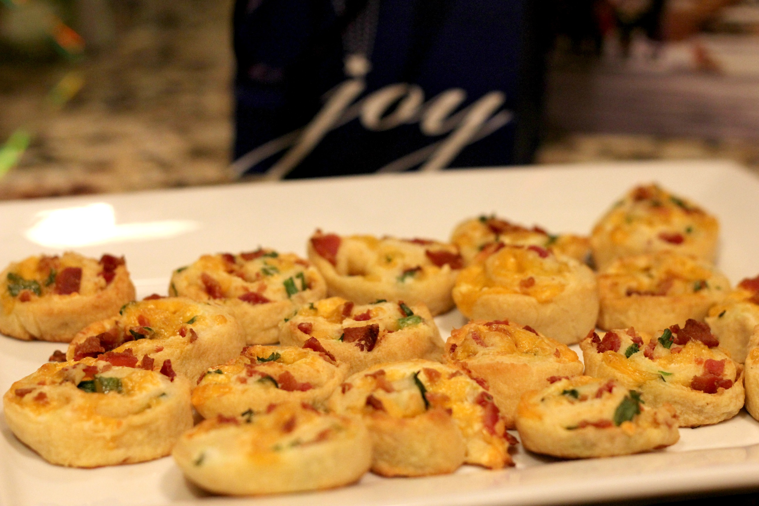 Cheesy Bacon Pinwheels 2