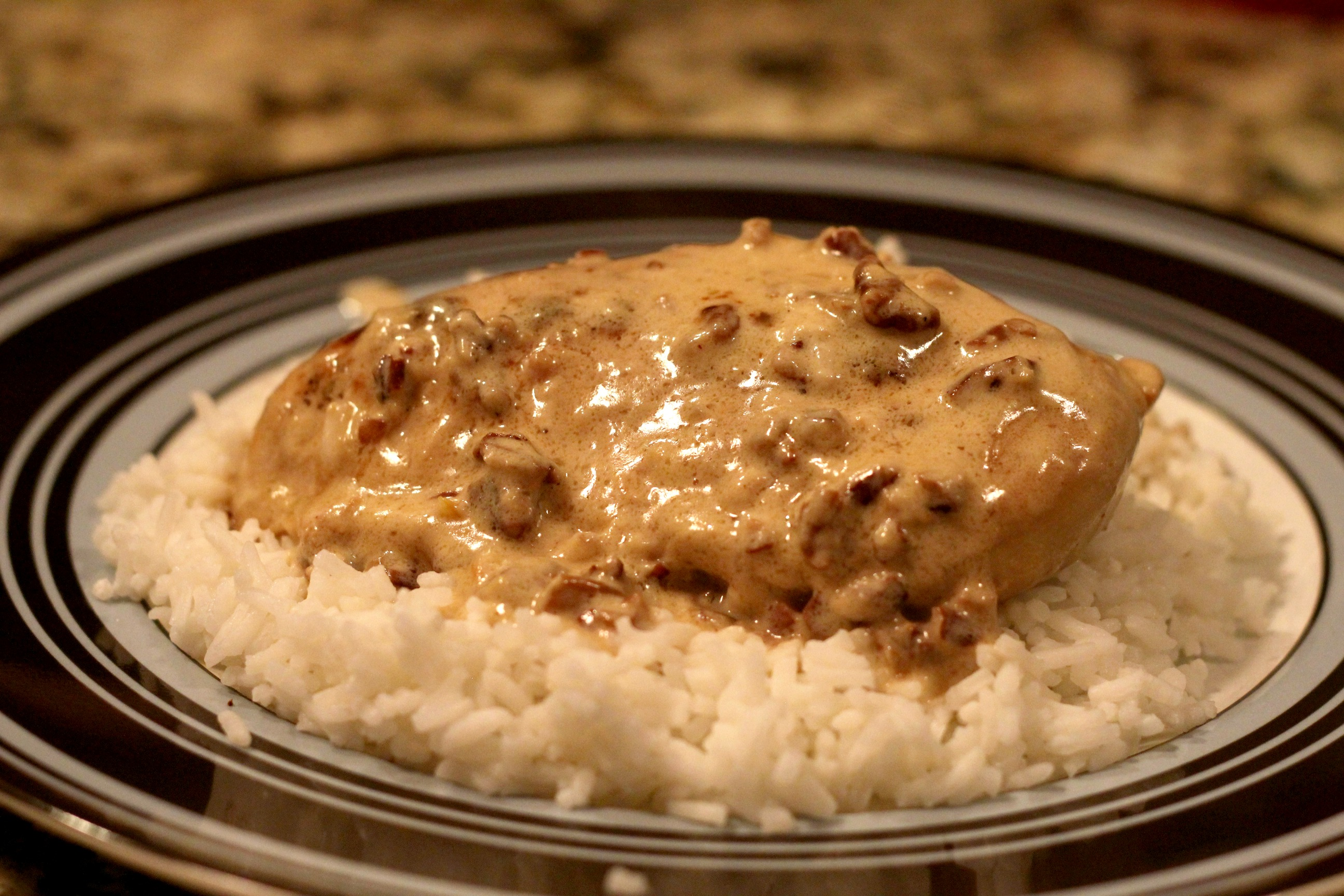 Creamy Toasted Pecan Chicken