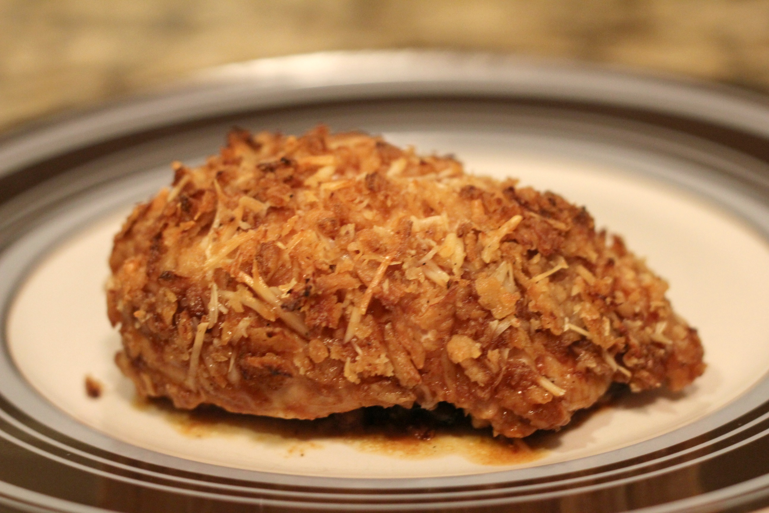 Crunchy Onion BBQ Chicken 1
