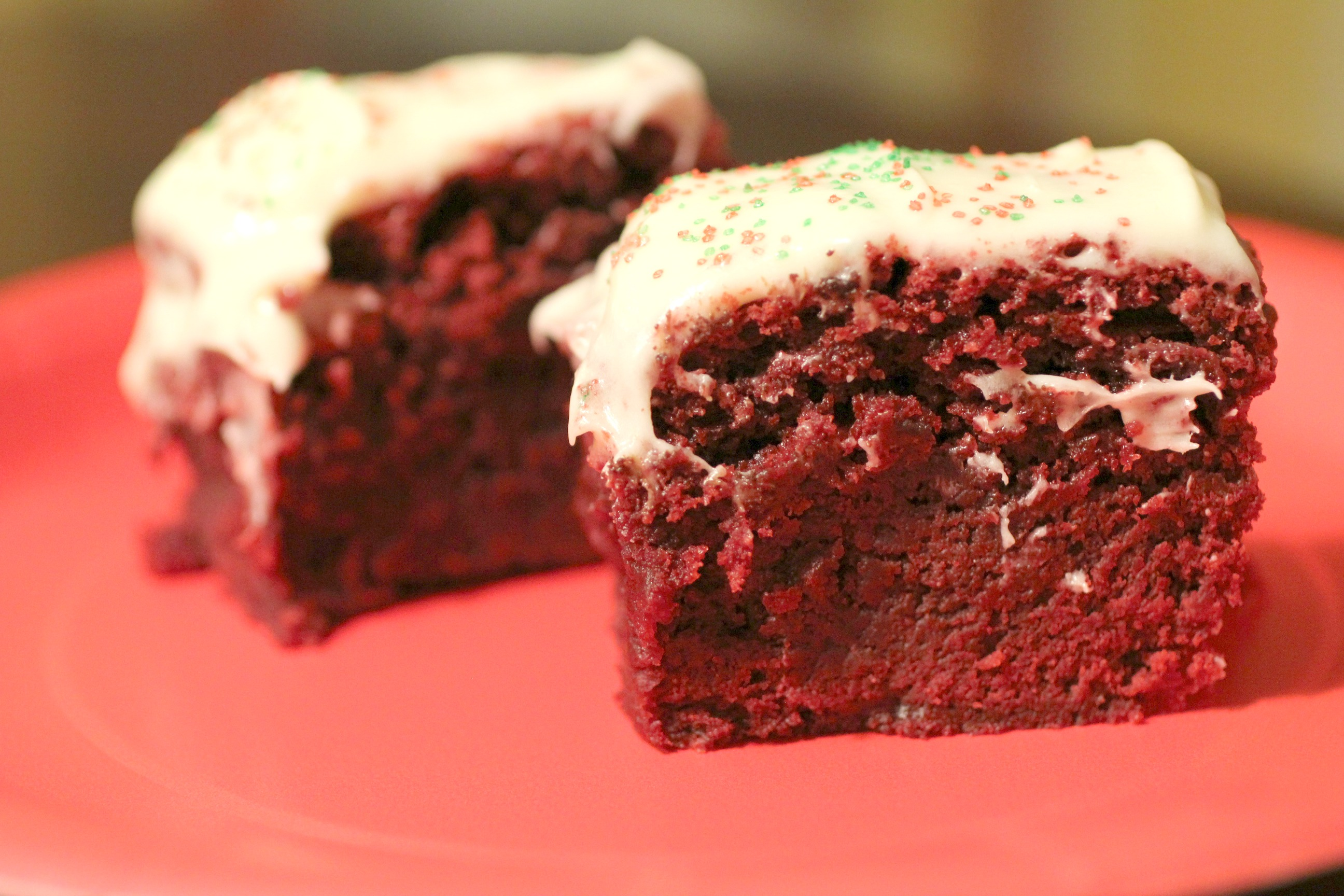 Red Velvet Brownies 3