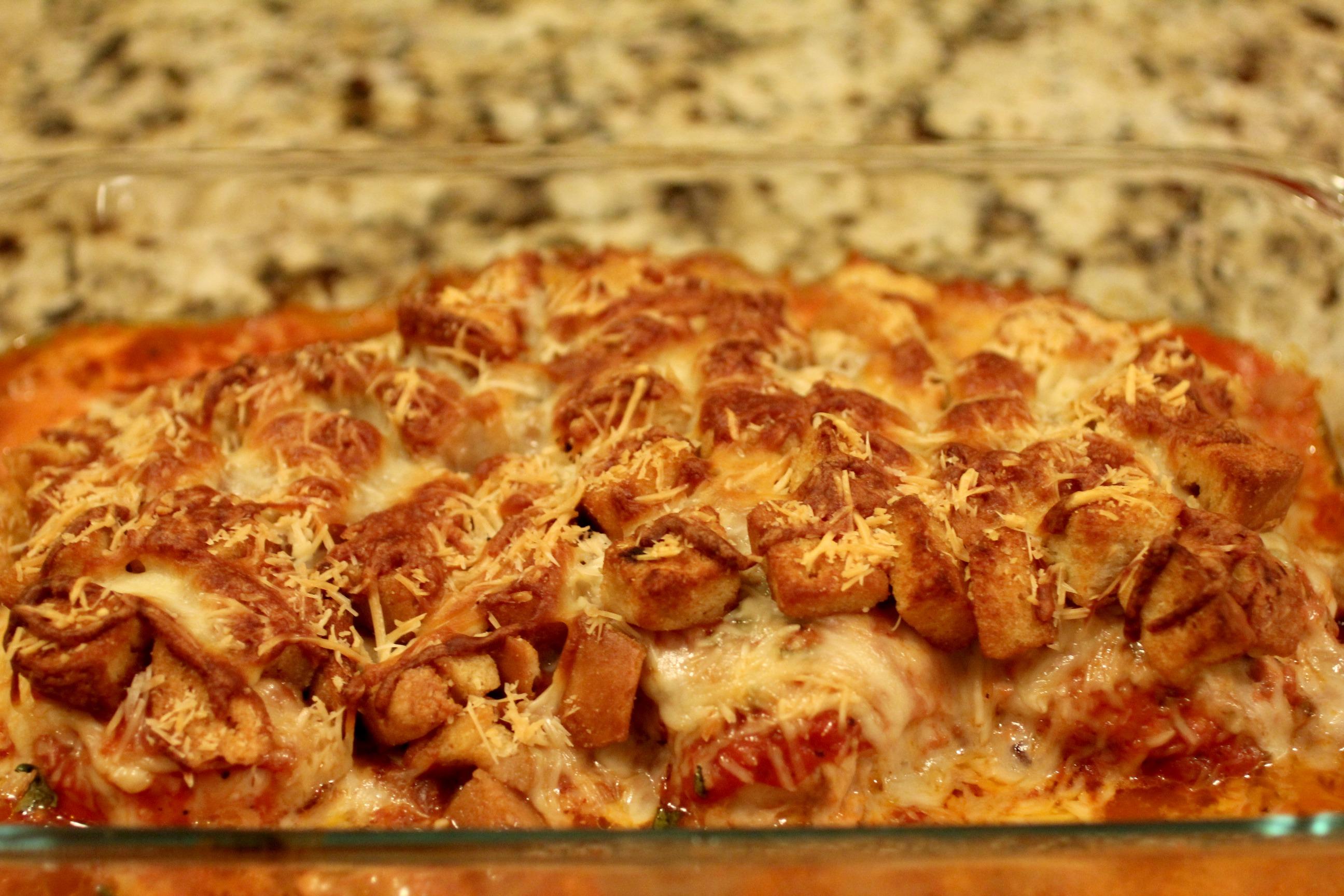 Chicken Parmesan Casserole 1