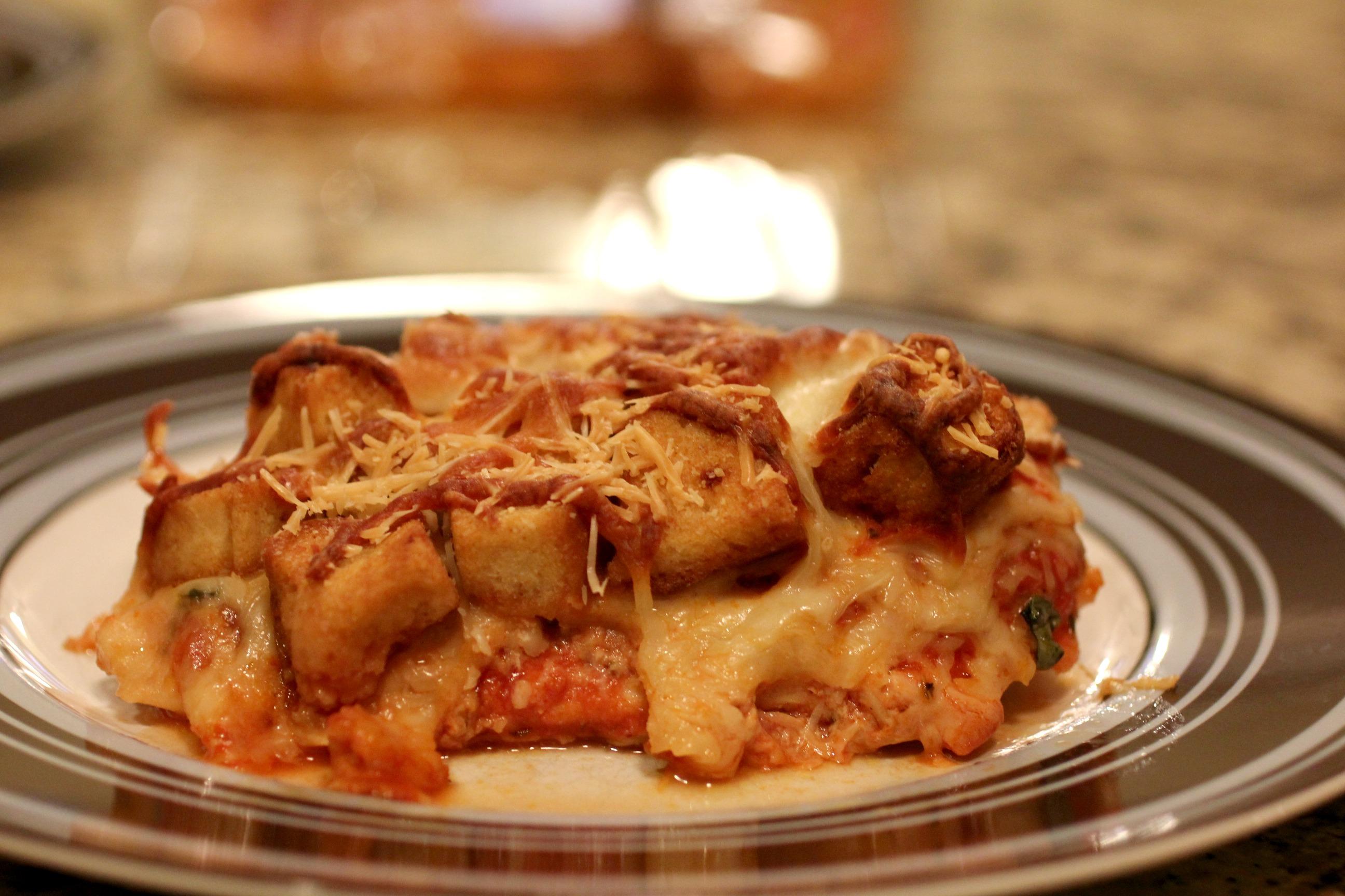 Chicken Parmesan Casserole 2