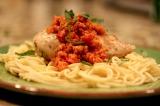 Chicken with RomescoSauce