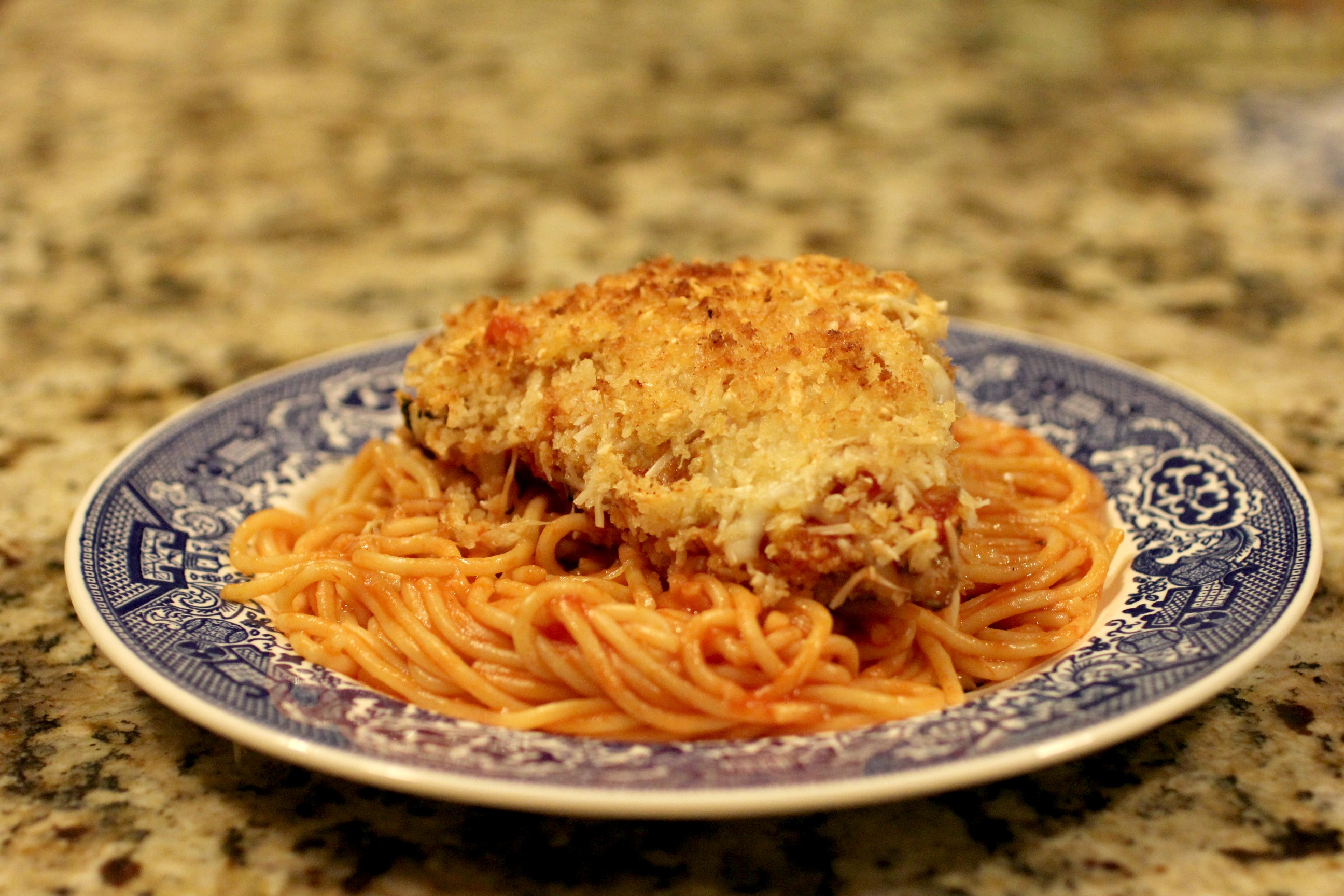 Grilled Chicken Parmesan 2