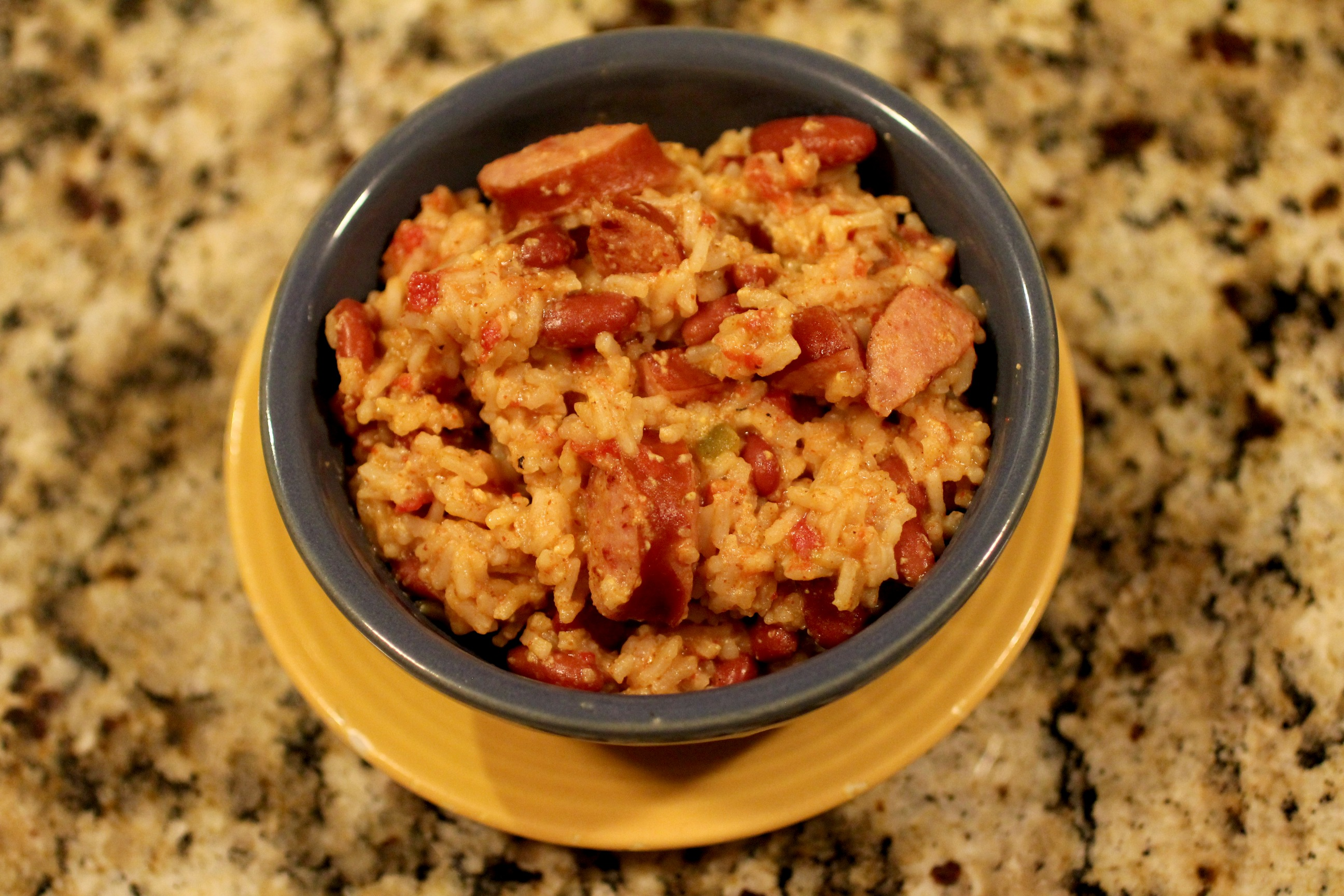 Velveeta Red Beans & Rice 3