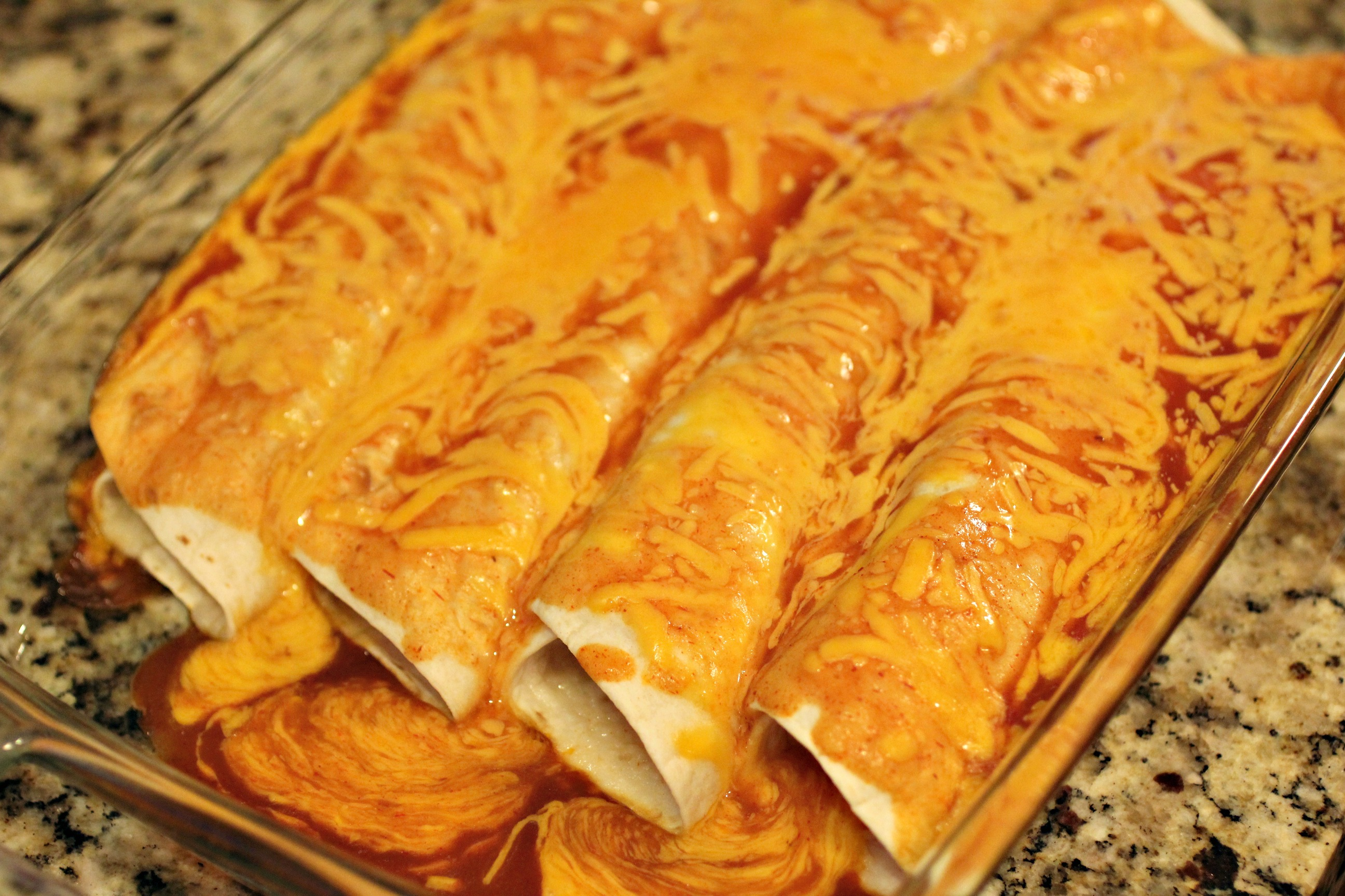 Beef & Cheese Enchiladas 1