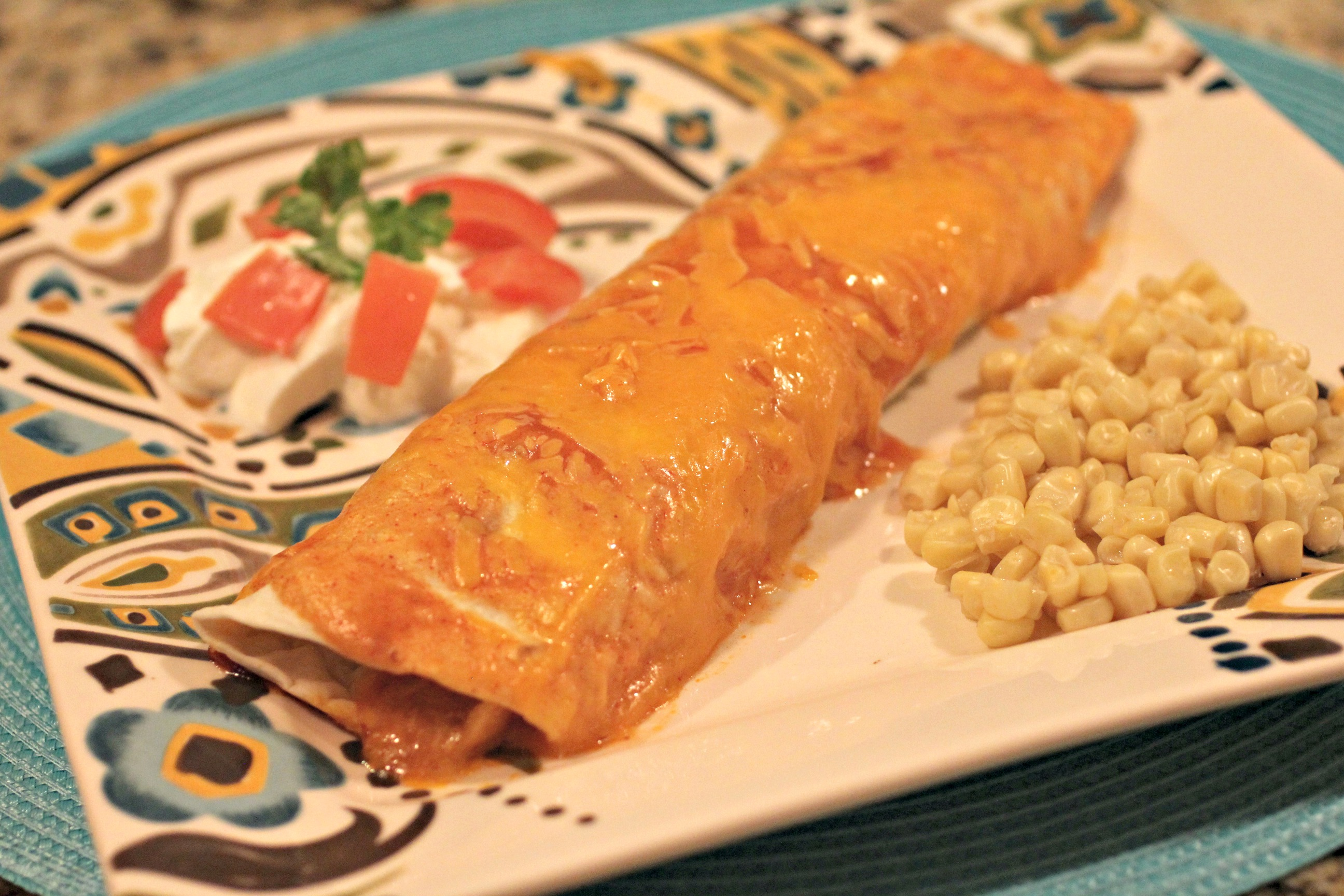 Beef & Cheese Enchiladas 2