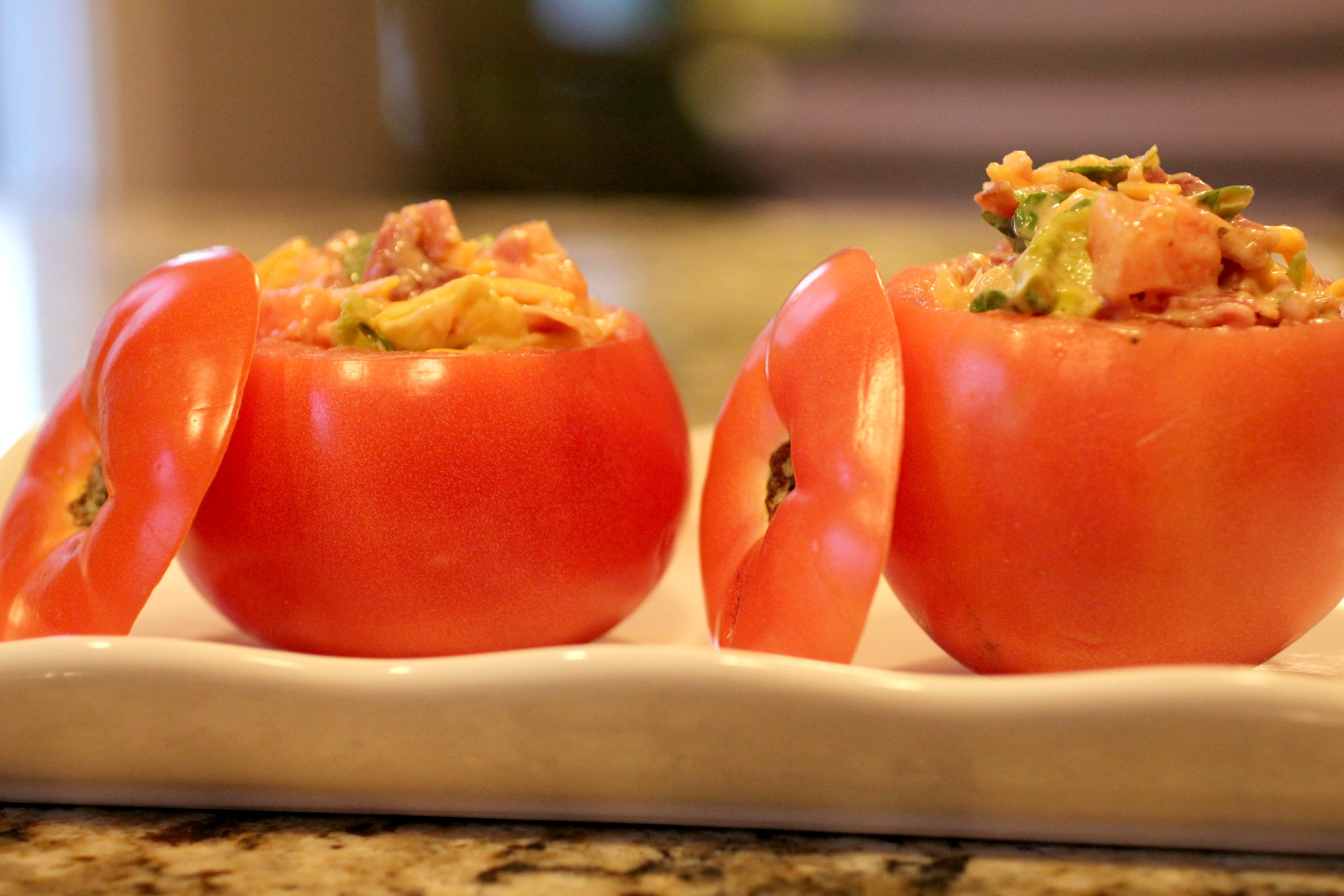 BLT Stuffed Tomatoes 1