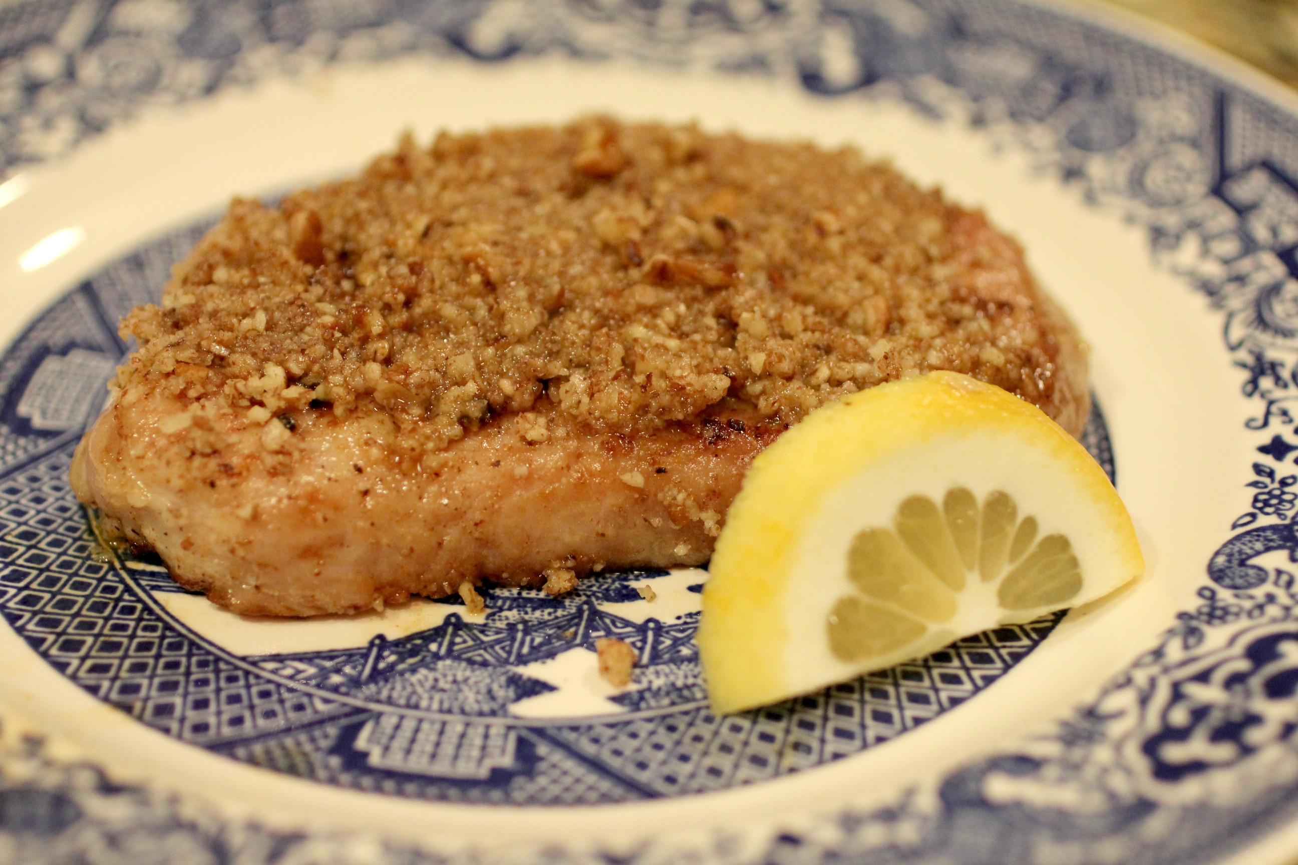 Lemon Nut Pork Chops 1