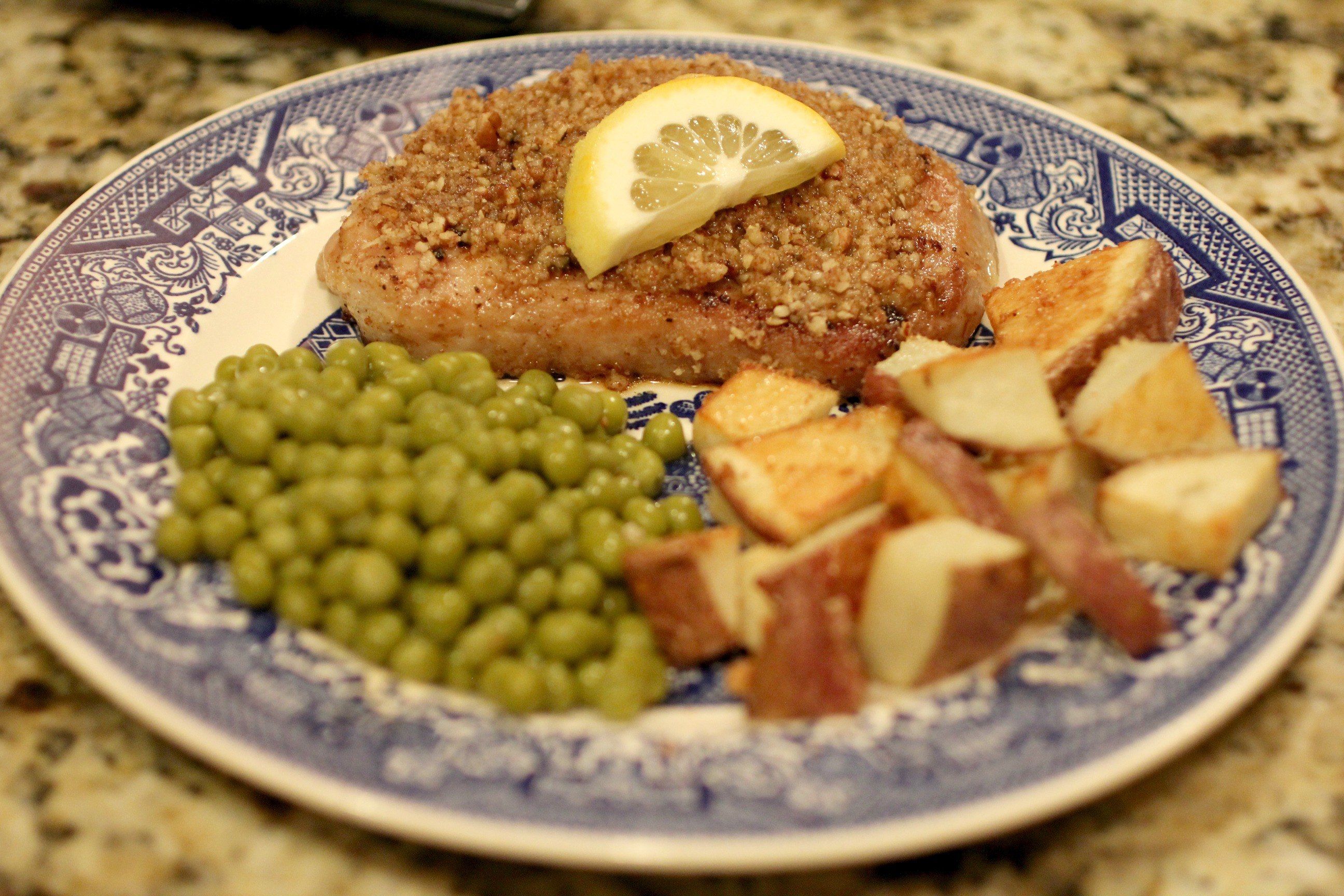 Lemon Nut Pork Chops 2