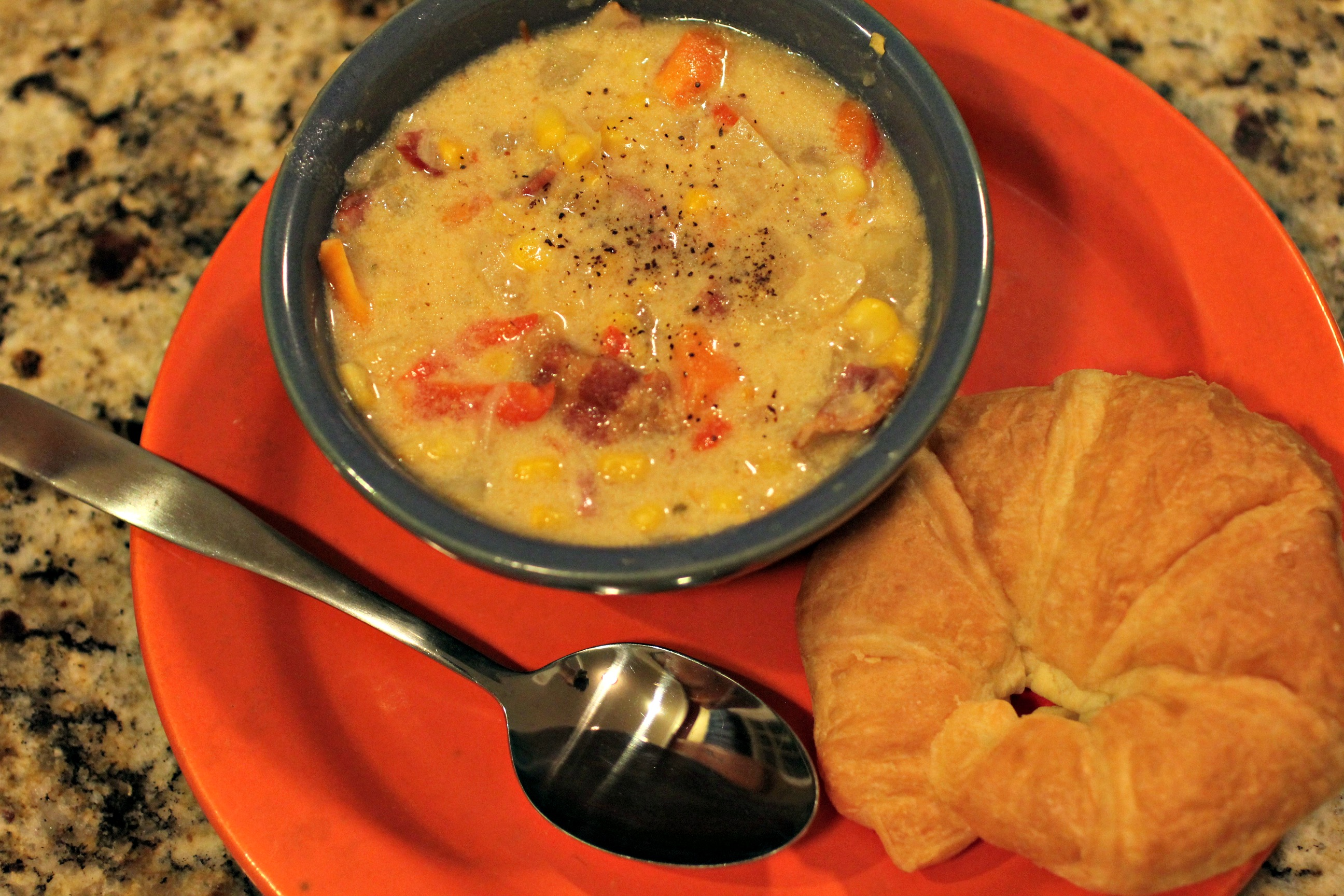 Bacon & Corn Chowder