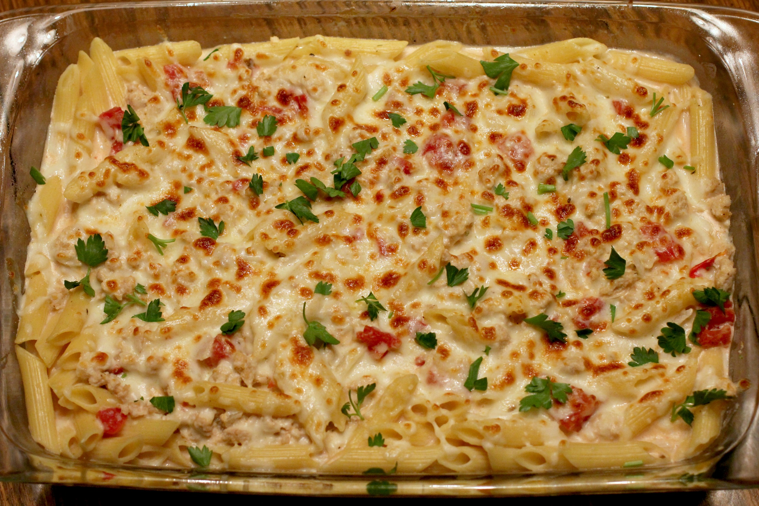 Greek Pastitsio Casserole 1