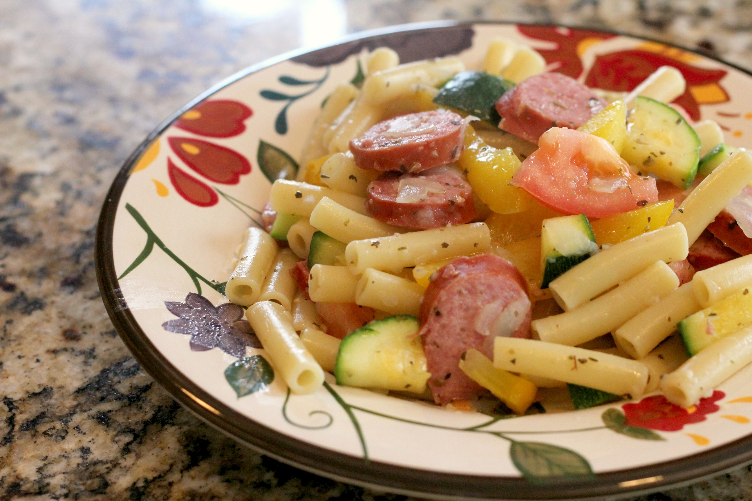Sausage & Peppers Pasta 2