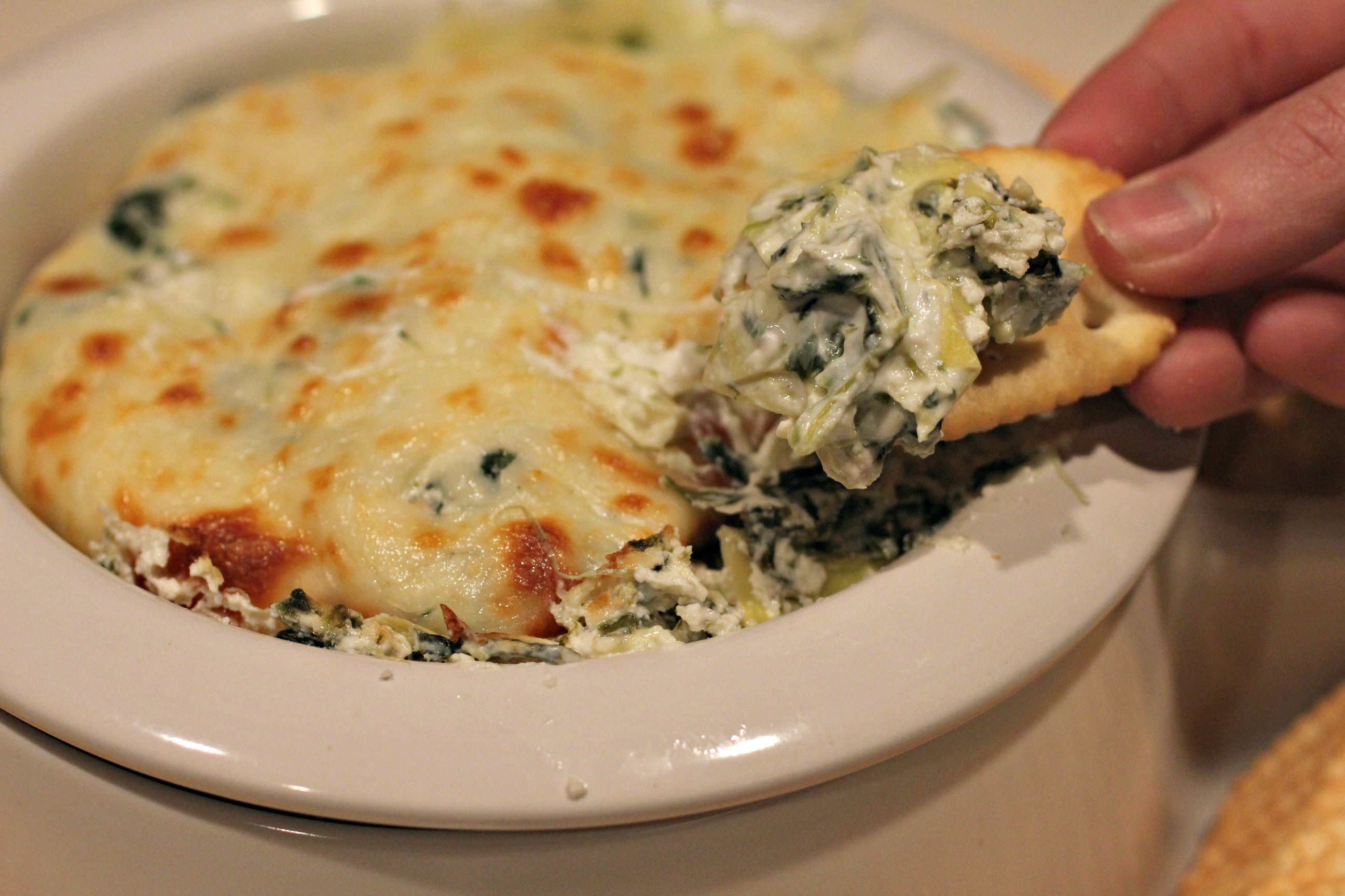 Better-for-You Spinach Artichoke Dip