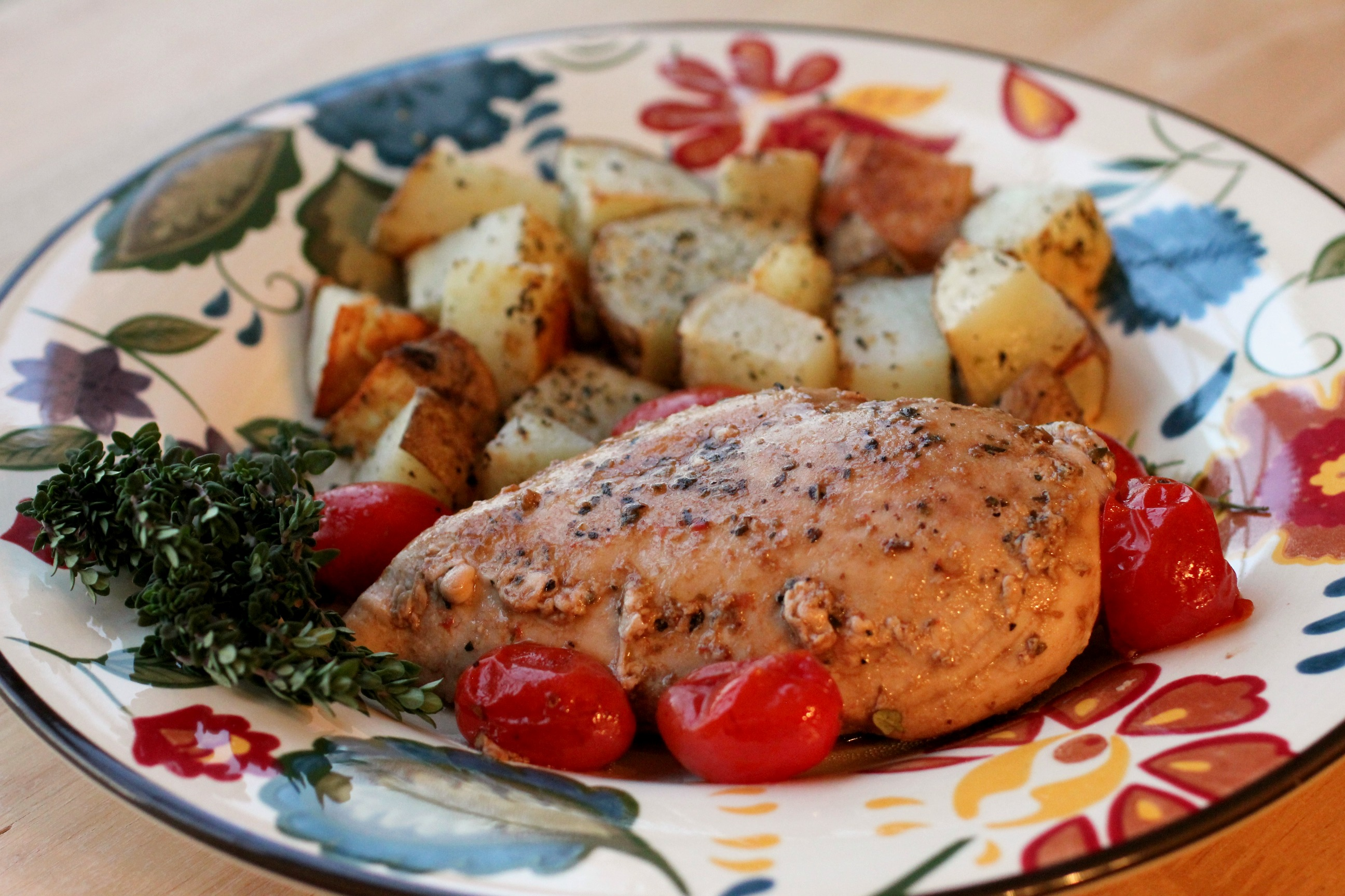 Tuscan Chicken & Potatoes