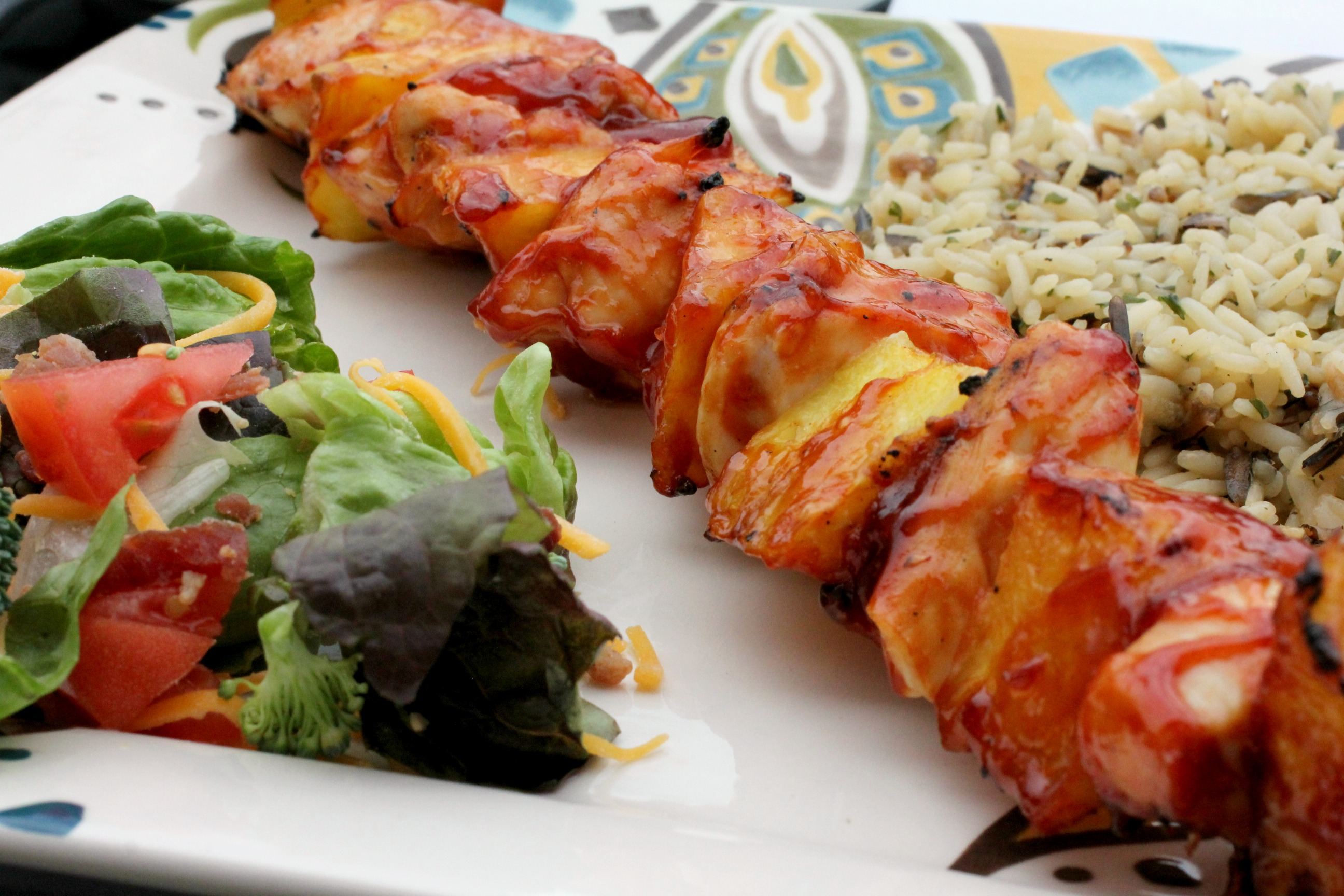 Chicken & Pineapple Kabobs 4