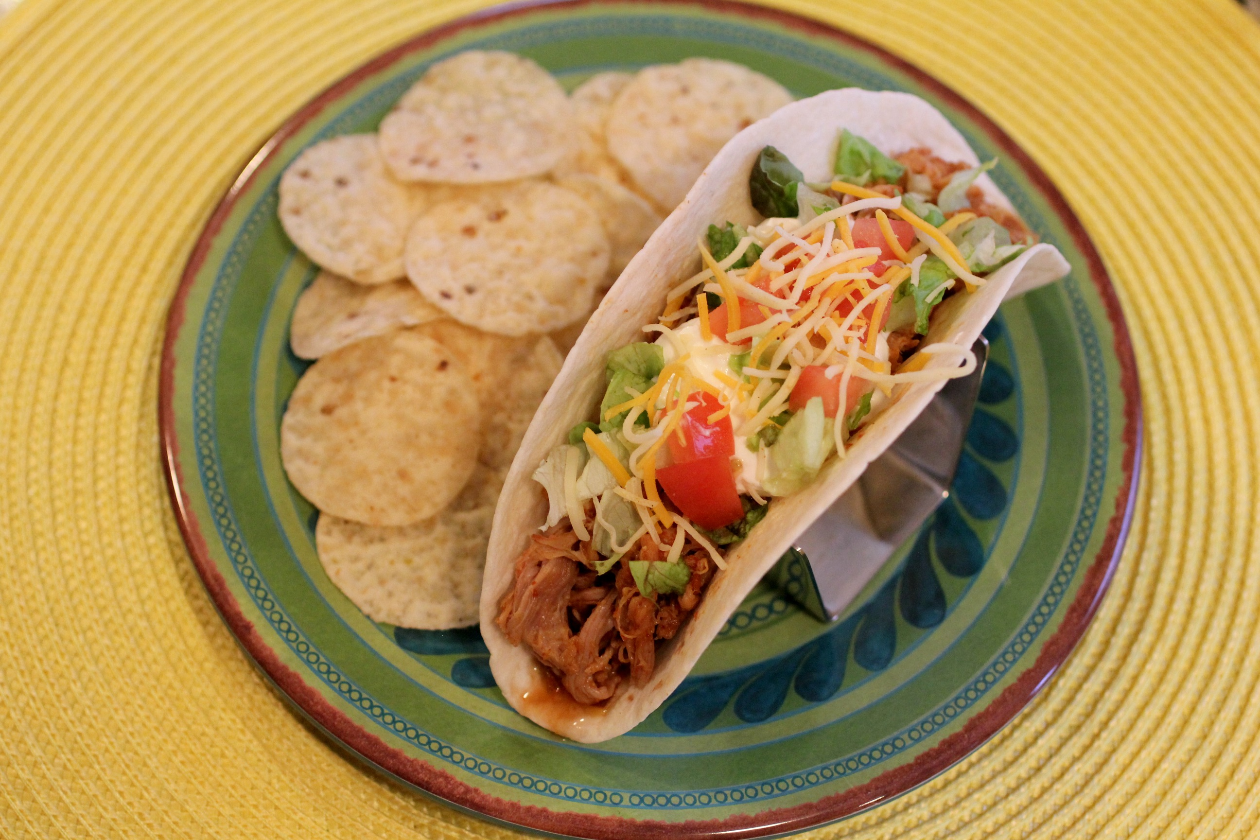 Slow Cooker Mexican Pulled Pork Tacos - Normal CookingNormal Cooking