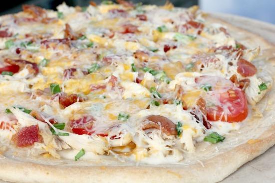 Chicken Bacon Ranch Pizza 2