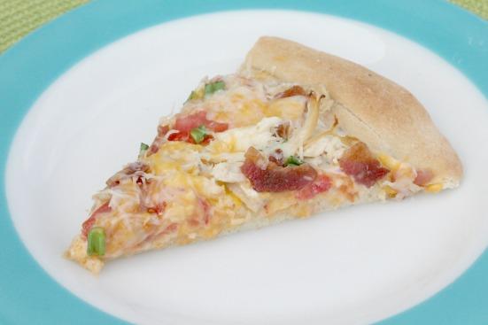 Chicken Bacon Ranch Pizza 4
