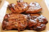 Grilled Brown Sugar Glazed PorkChops