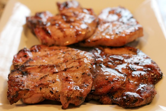 Grilled Brown Sugar Pork Chops 1