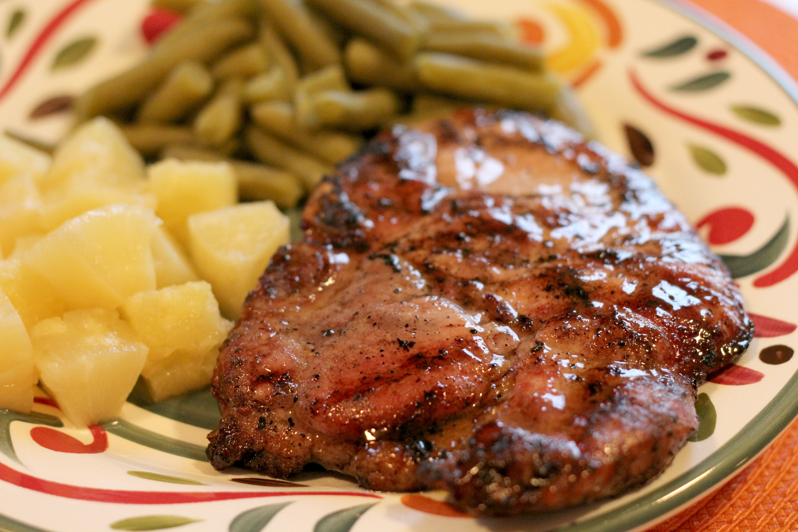Grilled Brown Sugar Pork Chops 3