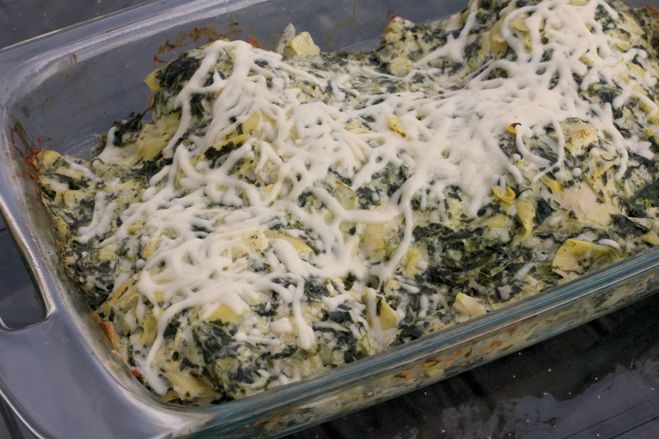 Spinach & Artichoke Dip Chicken 1