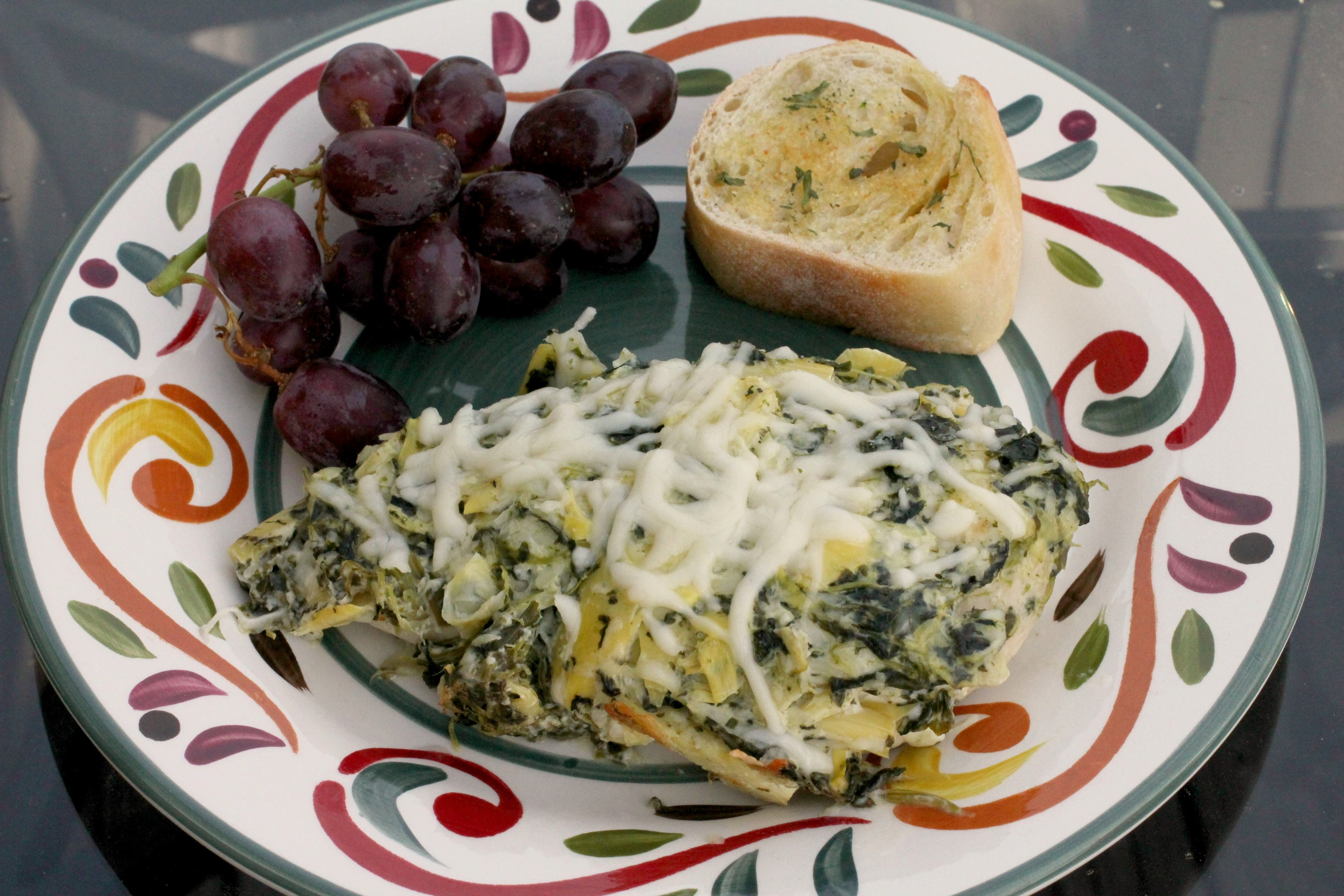 Spinach & Artichoke Dip Chicken 2