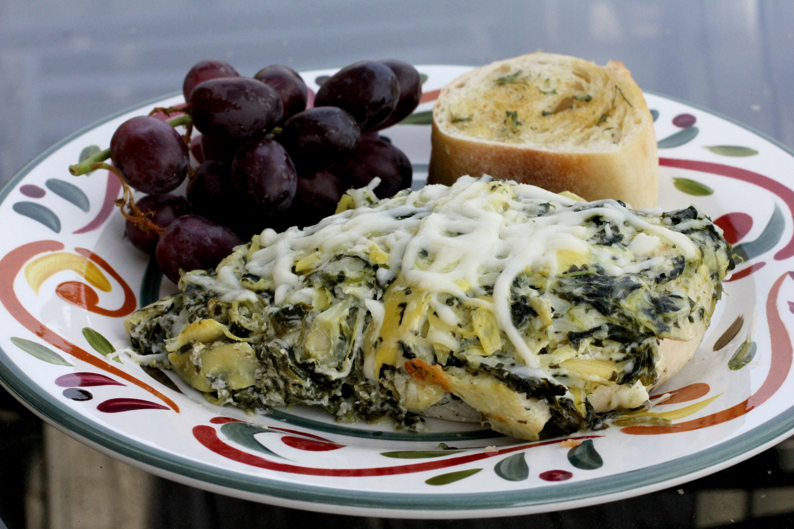 Spinach & Artichoke Dip Chicken 3