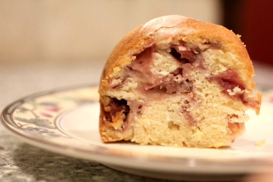 Strawberry Pound Cake 4
