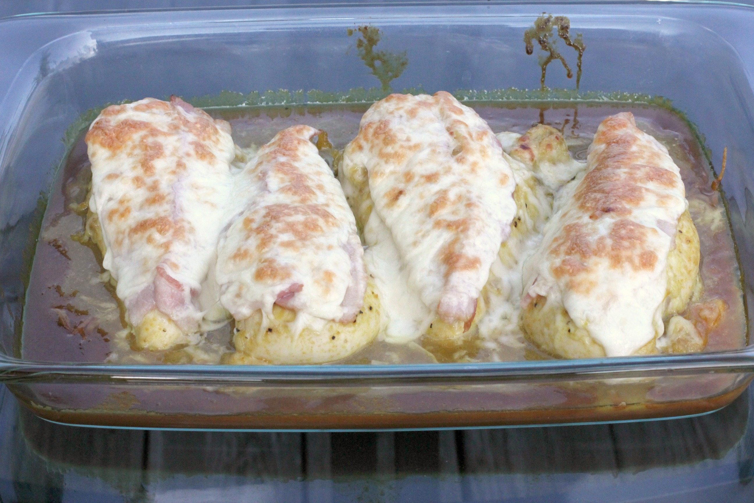 Honey Mustard Mozzarella Chicken 1